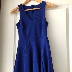 Lush Skater Dress - Royal Blue